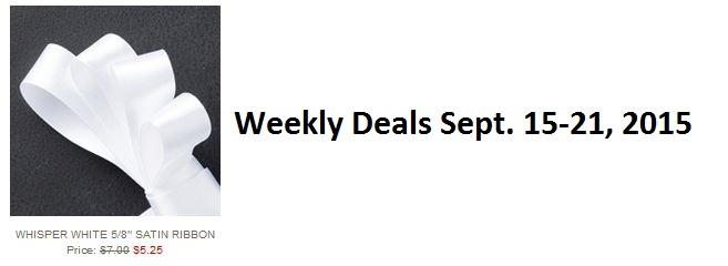 Deals sept 15 2