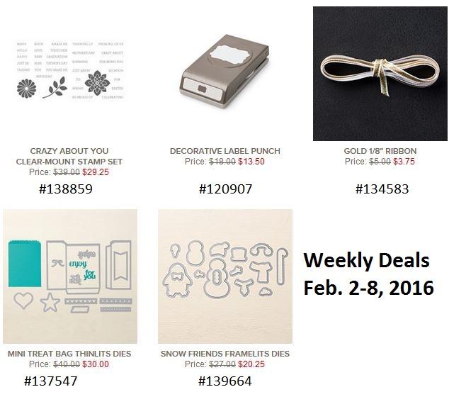 Deals feb 2