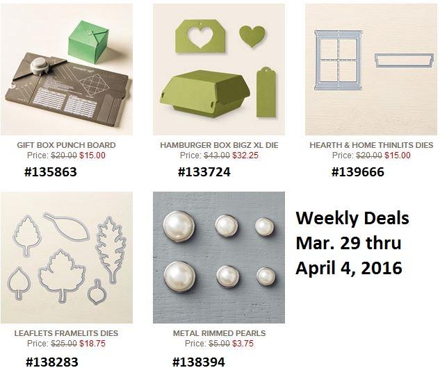 Deals mar 29