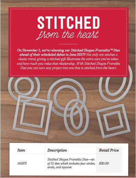 Stitched Framelits $30