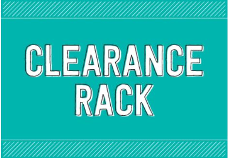 Clearance turquoise square