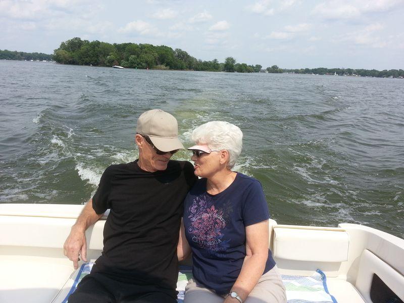 In boat