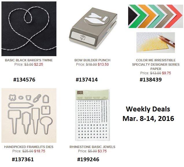 Deals mar 8
