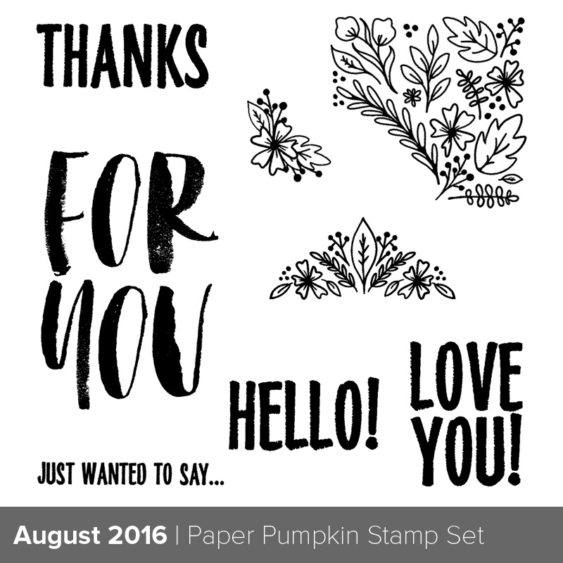 August PP Stamp Set 2016