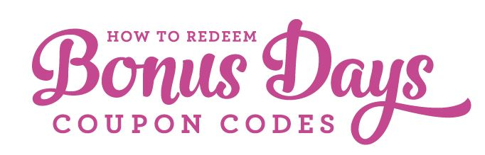 Header for redeeming codes
