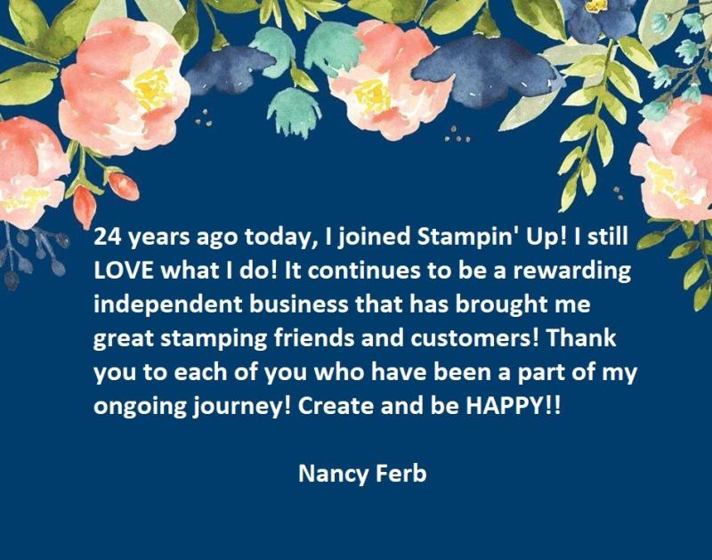 24 yrs Stampiversary