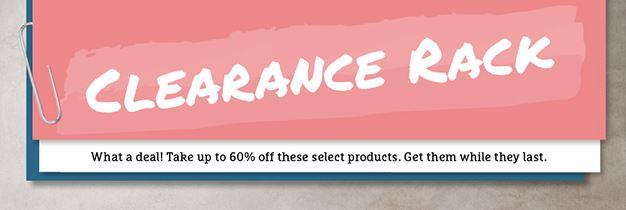 Clearance minus 60%
