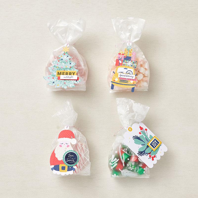 Santa tag kit  extra bags finished